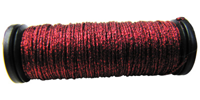 Kreinik #8 Braid - 003V Red/Black