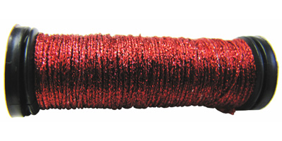 Kreinik #8 Braid - 003 Red