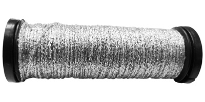 Kreinik #8 Braid - 001 Silver