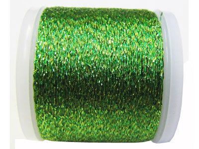 Madeira Thread - 52 Light Green with Gold Sparkle