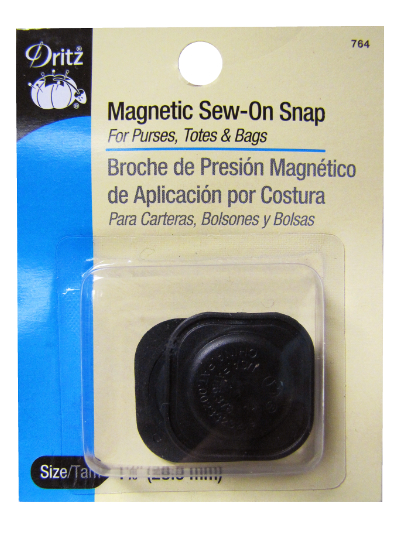 "Dritz Magnetic Sew-On Snap – 1 1/8"" (28.5 mm) MAIN"