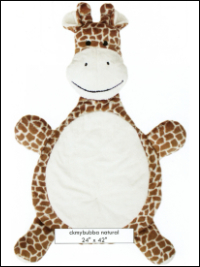 """My Bubba"" Minky Giraffe Kit – Natural"