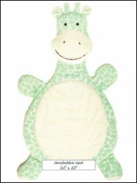 """My Bubba"" Minky Giraffe Kit – Opal"