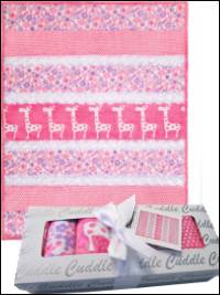"""Sugar & Spice"" Bambino Minky Strip Quilt Kit_THUMBNAIL"
