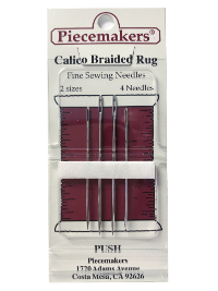 Piecemakers Calico Braided Rug Needles