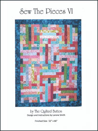 Sew The Pieces VI by The Quilted Button