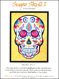 Sugar Skull I by Amy Loh Kupser