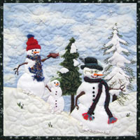 Let it Snow, Let it Snow Pattern_THUMBNAIL