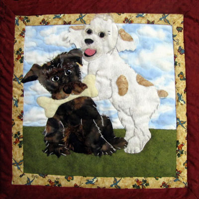 Shatzie and Angel Pattern