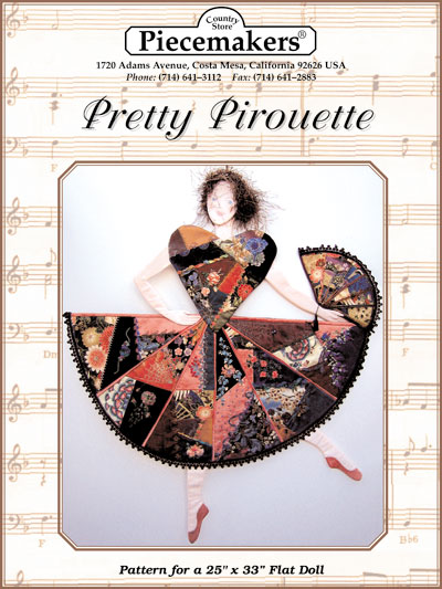 Pretty Pirouette (flat doll)_MAIN