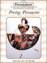 Pretty Pirouette (flat doll)