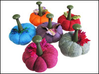 Pumpkin Pincushion — Large