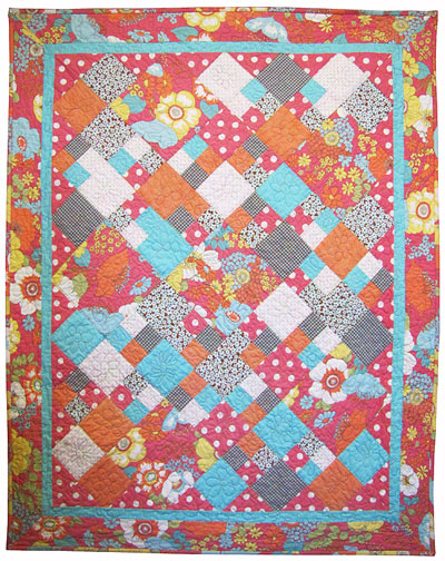 """Contra Dance"" Baby Quilt"
