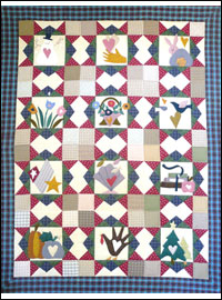 Hearts-a-Plenty Wallhanging