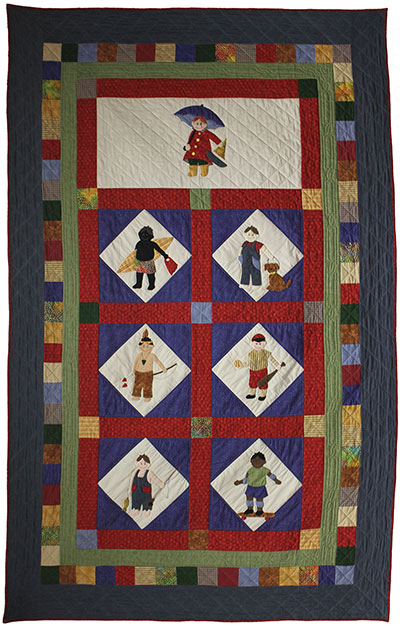 It's A Boy's Life Quilt - Twin Size