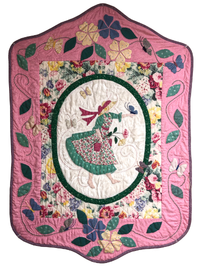 Spring Girl Wallhanging