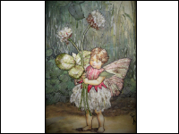 Embroidered Clover Flower Fairy Wrap Up_THUMBNAIL