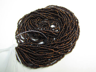 Seed Beads - Silver-lined Root Beer - 11/0