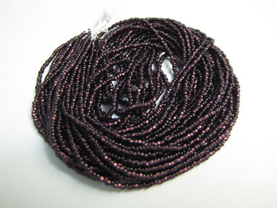 Seed Beads - Silver-lined Deep Amethyst - 11/0