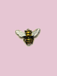 Susan Clarke - Flying Bee Button