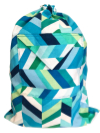 Schlepper Backpack – Blue, Green and White SWATCH