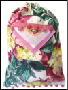 Schlepper Backpack – Pink, Cream, Green and Yellow Floral Print Mini-Thumbnail