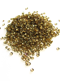 2mm Cup Sequins - Rich Gold