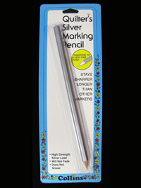 Collins Quilter's Silver Marking Pencil
