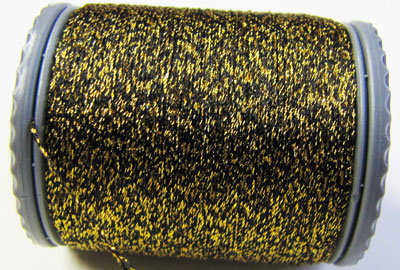 Sparkle Lamé - LM202 Gold and Black
