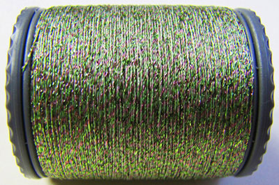 Sparkle Lamé - LM112 Green and Pink