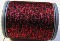 Sparkle Lamé - LM209 Red and Black