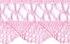 Pink Fine Crocheted Trim with Scalloped Edges - # 04390 B 000 col. 074 Mini-Thumbnail