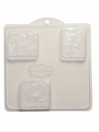 Soap Mold — Goat's Milk