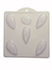 Soap Mold — Victorian Tear Drops
