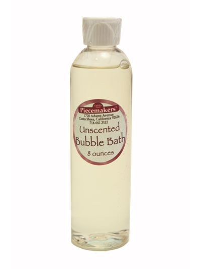 Unscented Bubble Bath/Body Wash — 8 ounces