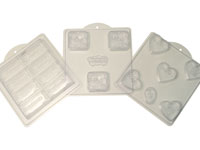 Soap Molds in a Variety of Shapes and Designs