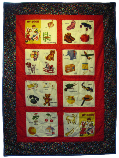 Storybook ABC Baby Quilt