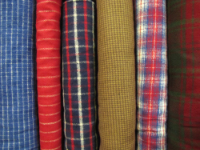 Flannel Fabrics by Marcus Fabrics and Robert Kaufman — Sold by the Inch