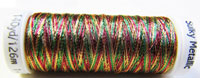 Sulky Thread - 7027 Variegated Red, Green and Gold