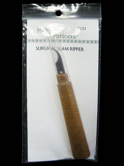 Nifty Notions Surgical Seam Ripper
