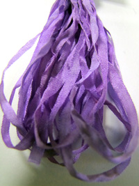 Thread Gatherer Hand-dyed Silk Ribbon, 4mm — Sweet Lavender 119_THUMBNAIL