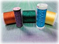 Decorative Threads by Madeira, Fujix, YLI & More for Machine & Hand Embroidery