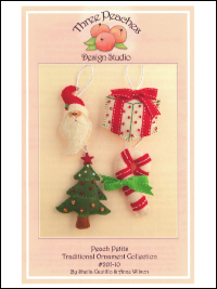 Peach Petits Traditional Ornament Collection #201-10 by Sheila Cautillo & Anne Wilson