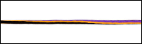 Thin Black, Orange and Purple Trim by May Arts - # 378-39