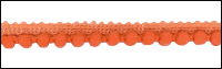 Orange Mini Pom Pom Trim by May Arts - # 419-28