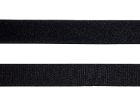 "3/4"" Wide Sew On Velcro – Black_THUMBNAIL"