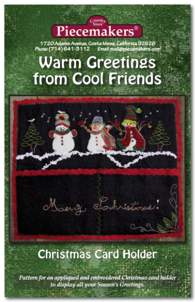 Warm Greetings from Cool Friends  NEW!