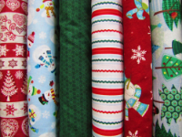 Christmas Prints — Christmas Fabrics Sold by the Inch