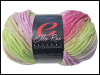 "Ella Rae ""Seasons"" Yarn - colour: 42, dye lot: S-189 - Pink and Green Mini-Thumbnail"