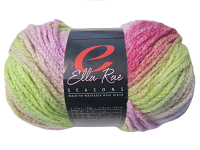 "Ella Rae ""Seasons"" Yarn - colour: 42, dye lot: S-189 - Pink and Green"
